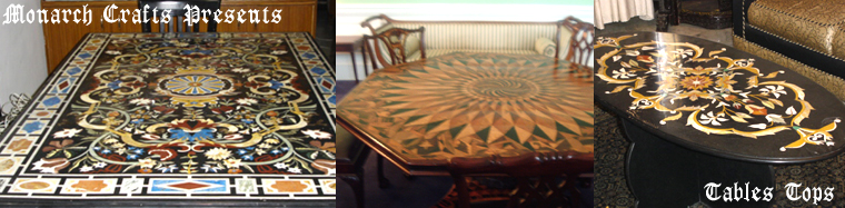 Marble Inlay Dining Tables Tops Manufacturers Exporters Of Marble